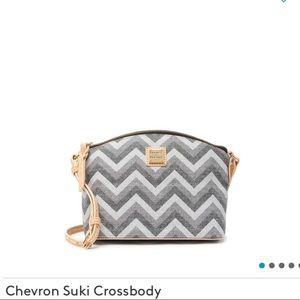 NWT Dooney & Bourke Crossbody Chevron Bag